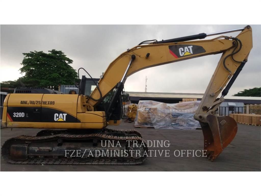 Caterpillar 320 D, Excavadoras de cadenas, Construcción