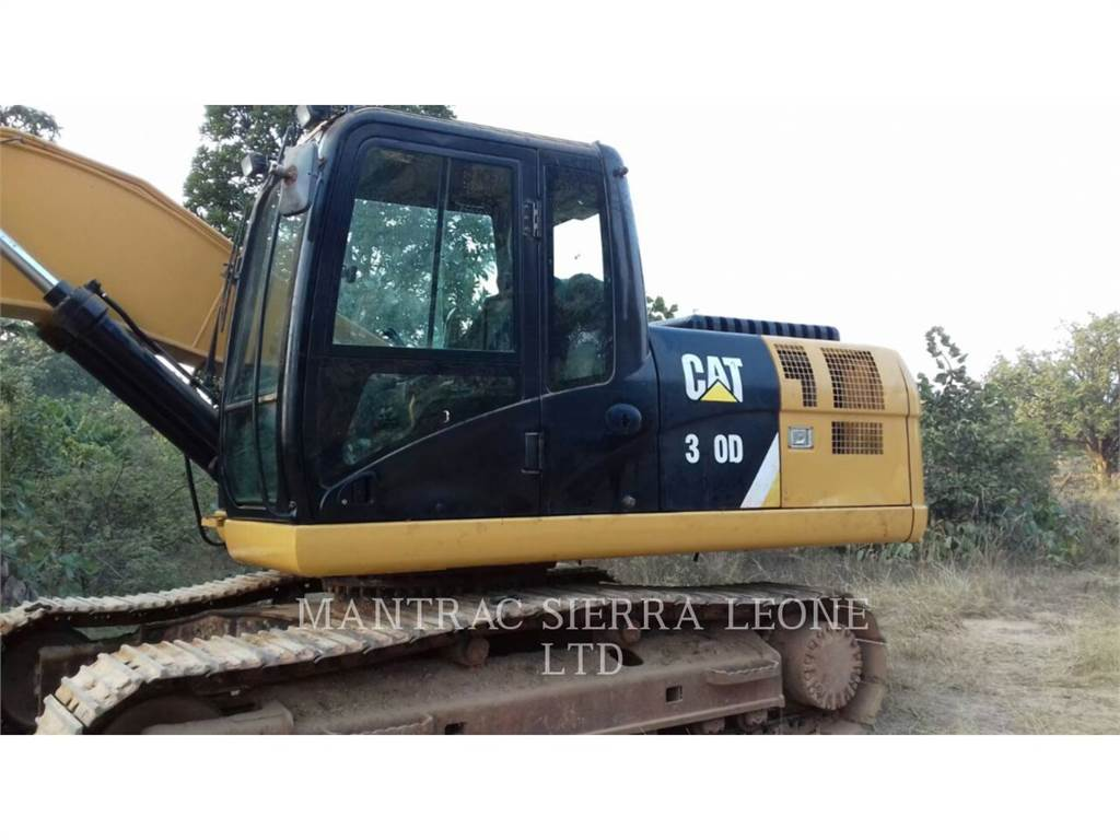 Caterpillar 320 D, Crawler Excavators, Construction
