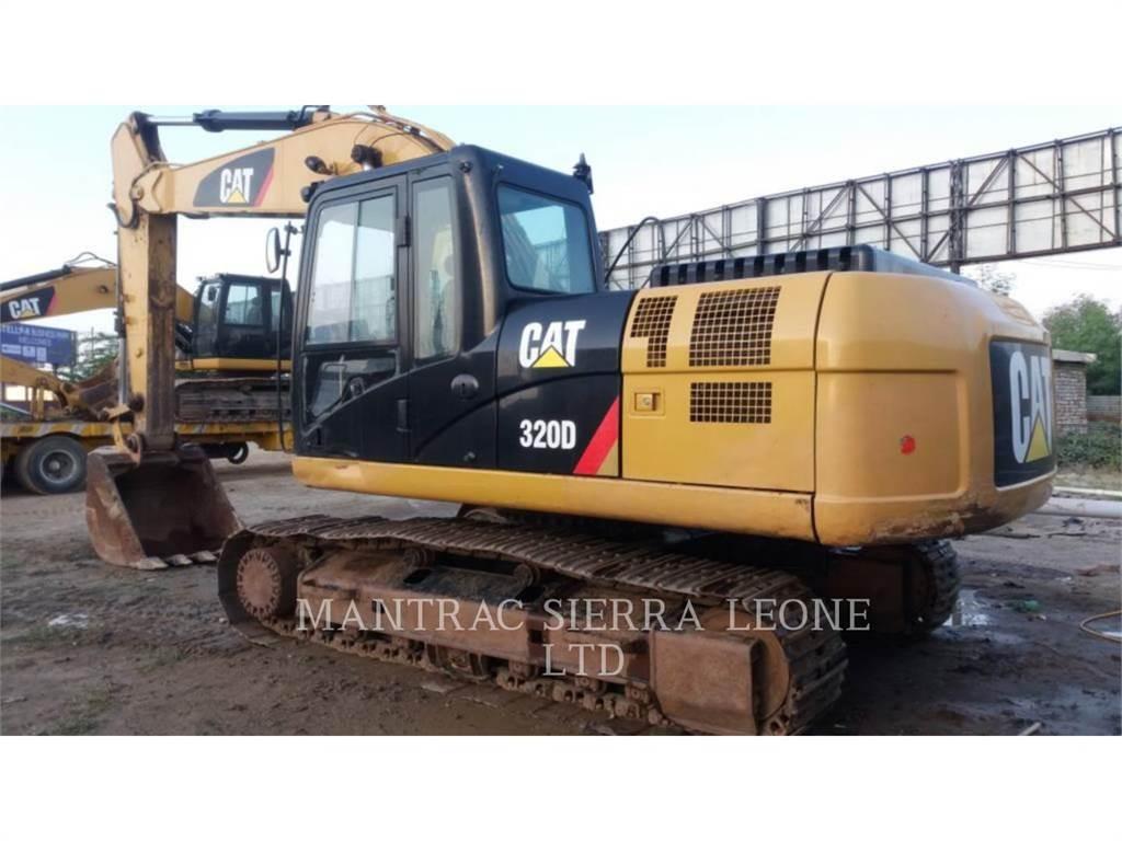 Caterpillar 320 D、履带挖掘机、建筑设备