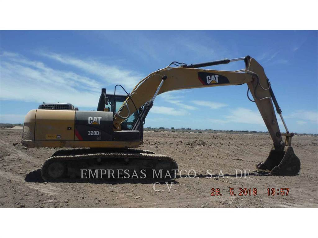 Caterpillar 320 D 2 GC, Crawler Excavators, Construction
