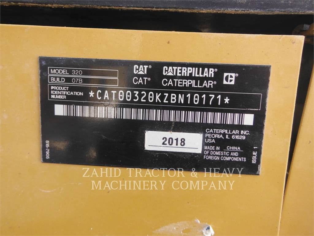 Caterpillar 32007, Crawler Excavators, Construction