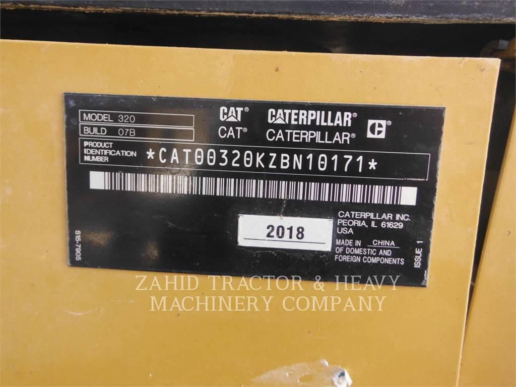 Caterpillar 32007, Rupsgraafmachines, Bouw