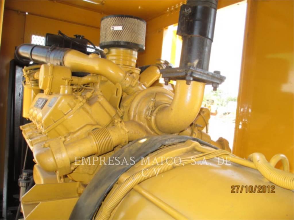 Caterpillar 3208, Stationary Generator Sets, Construction