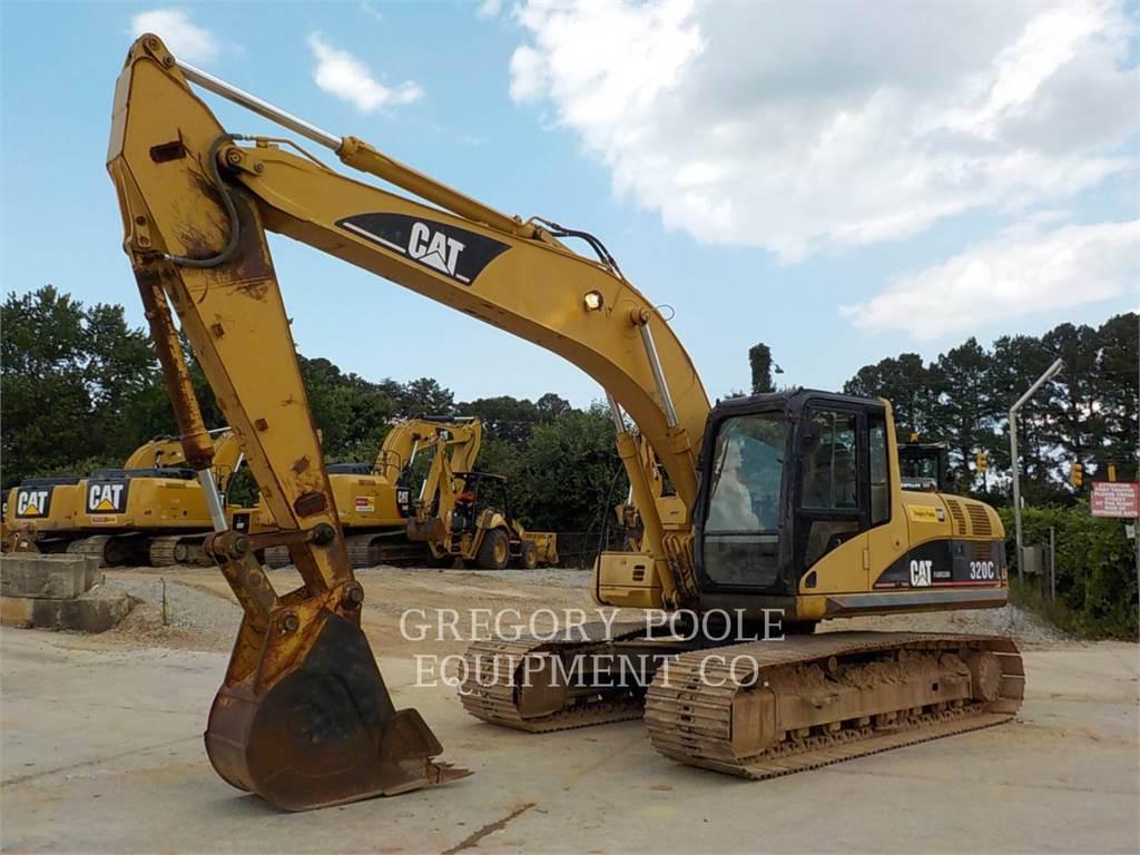 Caterpillar 320C L、クローラー式油圧ショベル(パワーショベル・ユンボ)、建設