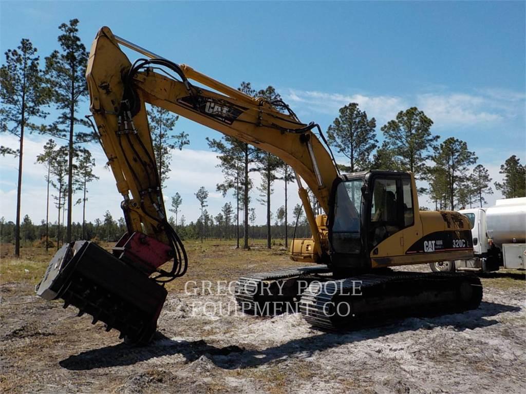 Caterpillar 320C L, Crawler Excavators, Construction