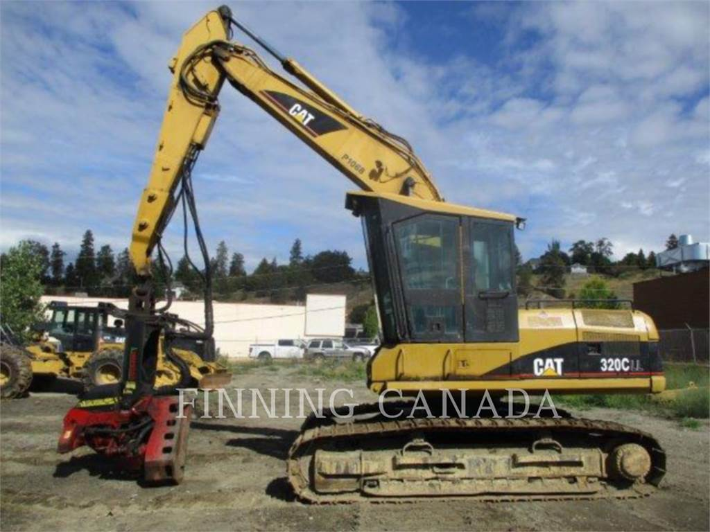 Caterpillar 320CFMHW, Excavadoras, Forestal