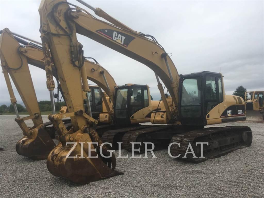 Caterpillar 320CL, Crawler Excavators, Construction