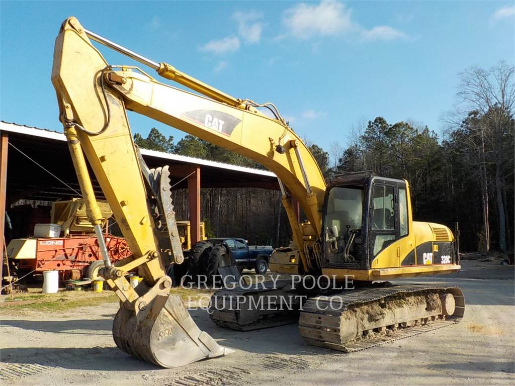 Caterpillar 320CL, Crawler Excavators, Construction