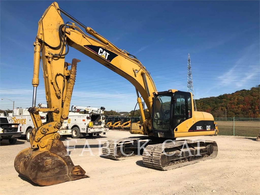 Caterpillar 320CL, Excavadoras de cadenas, Construcción