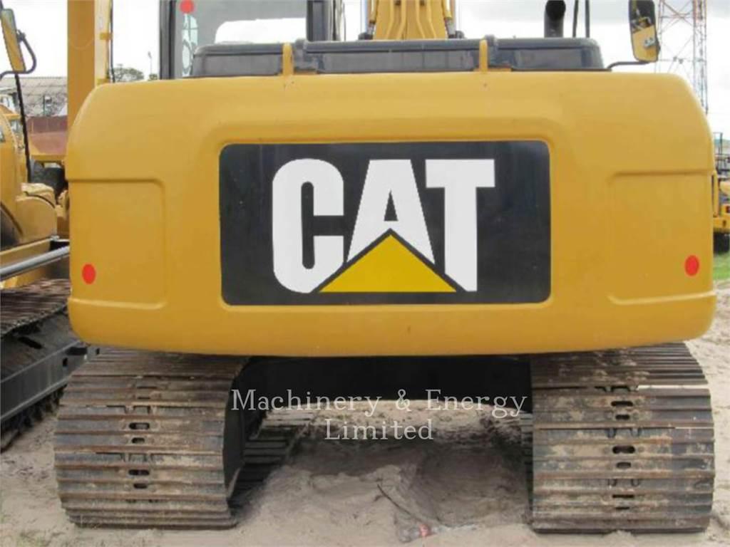 Caterpillar 320D, Excavatoare pe senile, Constructii