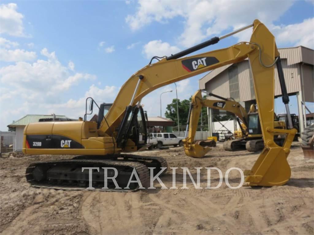Caterpillar 320D, Excavadoras de cadenas, Construcción