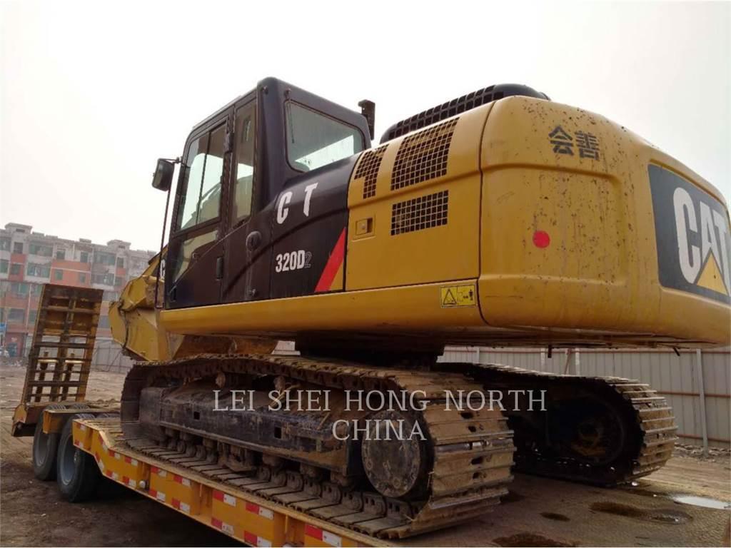 Caterpillar 320D, Escavadoras de rastos, Equipamentos Construção