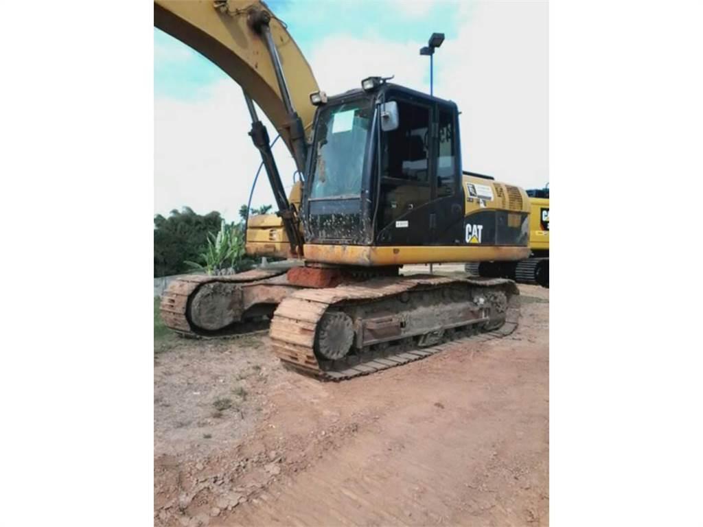 Caterpillar 320D, Crawler Excavators, Construction