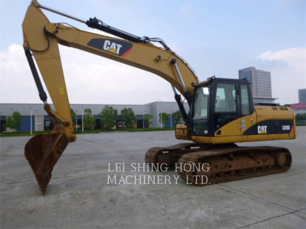 Caterpillar 320D, Pelle sur chenilles, Équipement De Construction