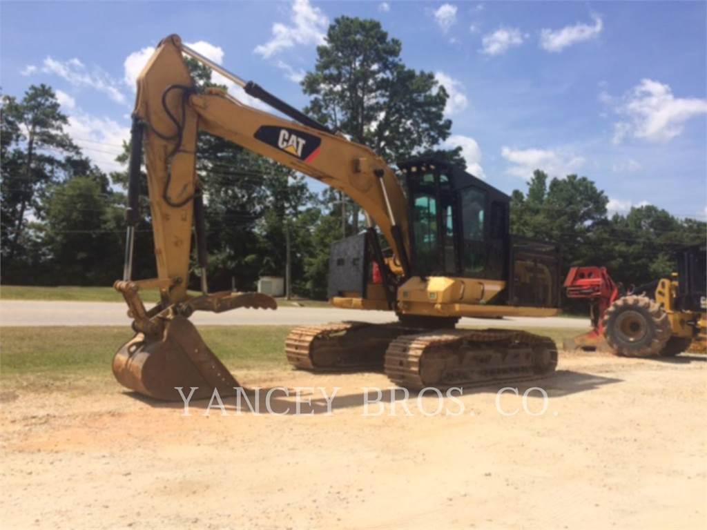 Caterpillar 320D FM, Excavadoras de cadenas, Construcción