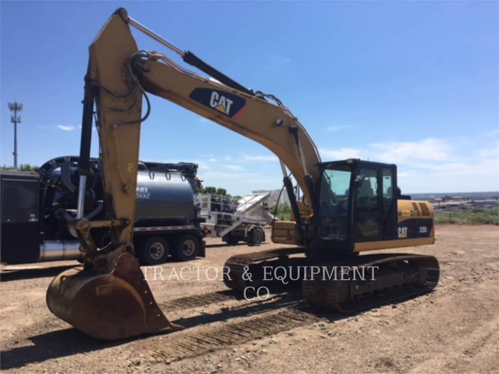 Caterpillar 320D L, Excavadoras de cadenas, Construcción