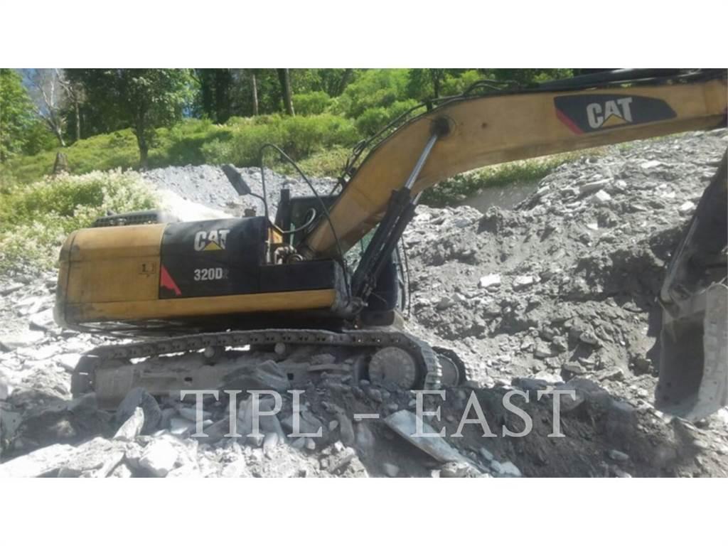 Caterpillar 320D2、クローラー式油圧ショベル(パワーショベル・ユンボ)、建設