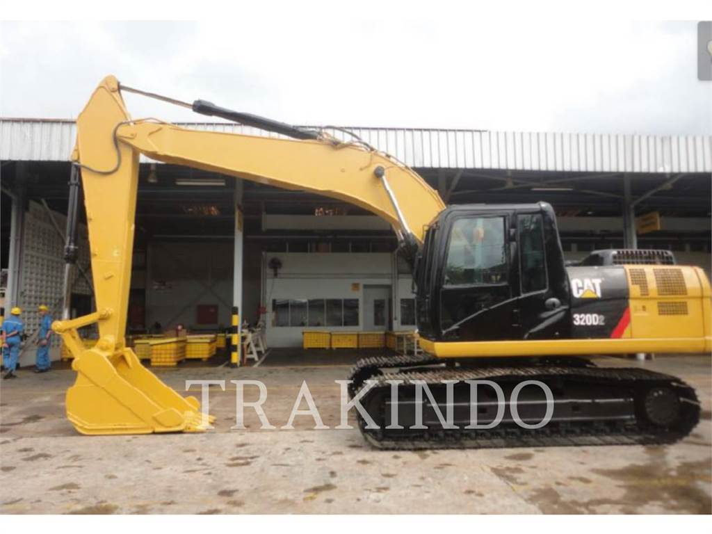Caterpillar 320D2, Crawler Excavators, Construction