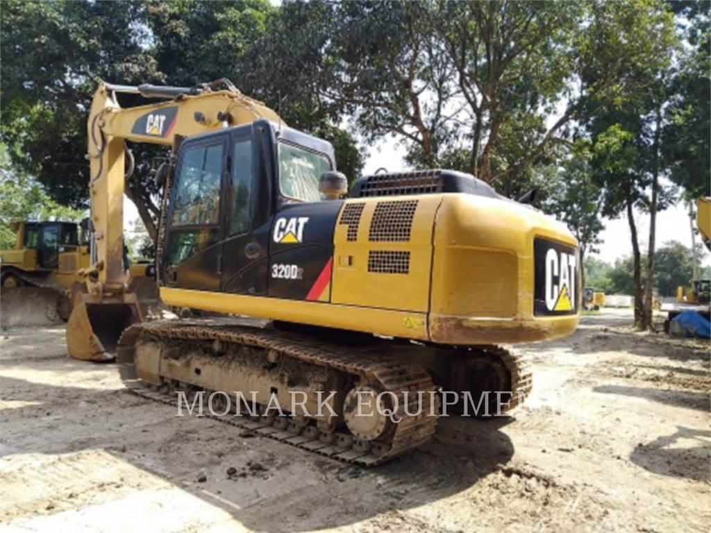 Caterpillar 320D2, Koparki gąsienicowe, Sprzęt budowlany