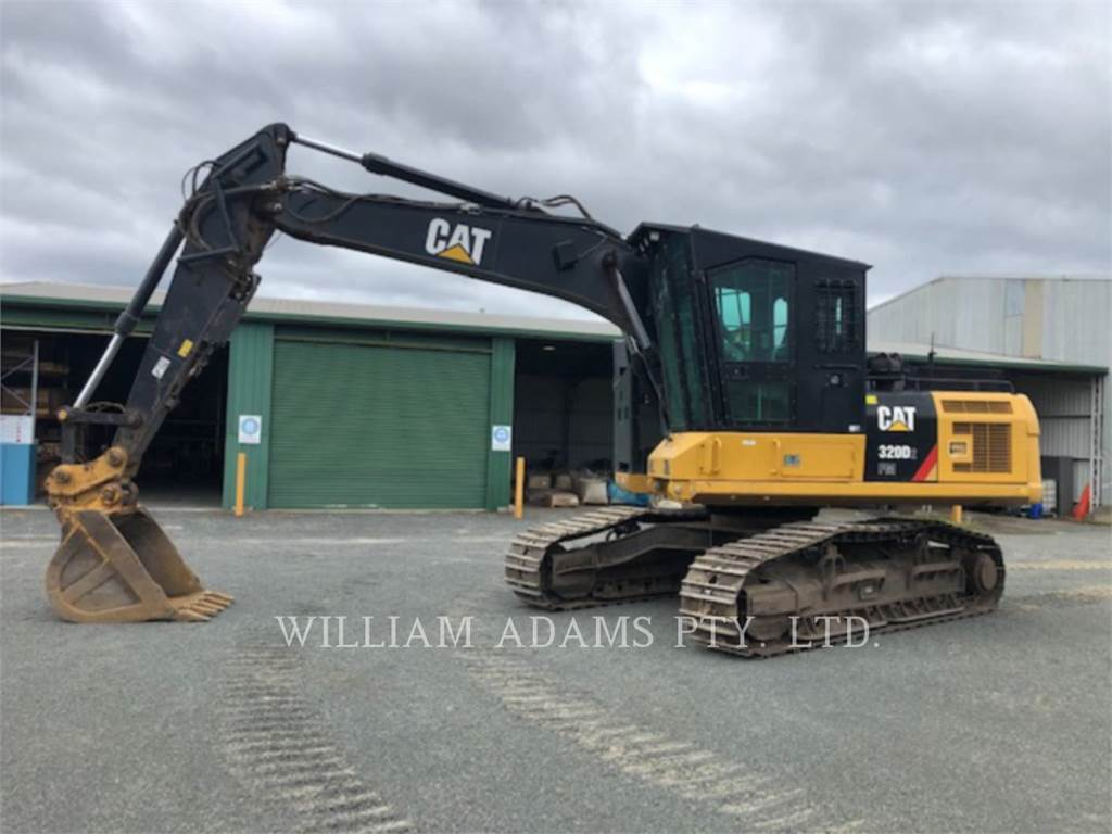 Caterpillar 320D2 FM, Crawler Excavators, Construction