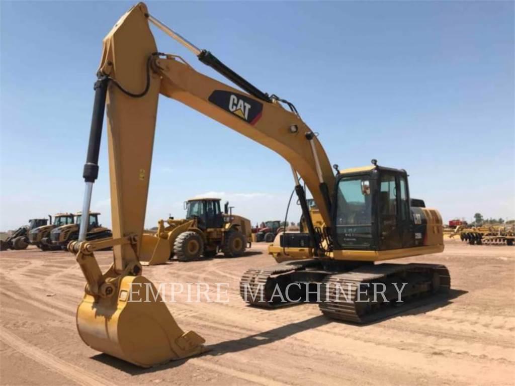 Caterpillar 320D2-GC, Excavatoare pe senile, Constructii