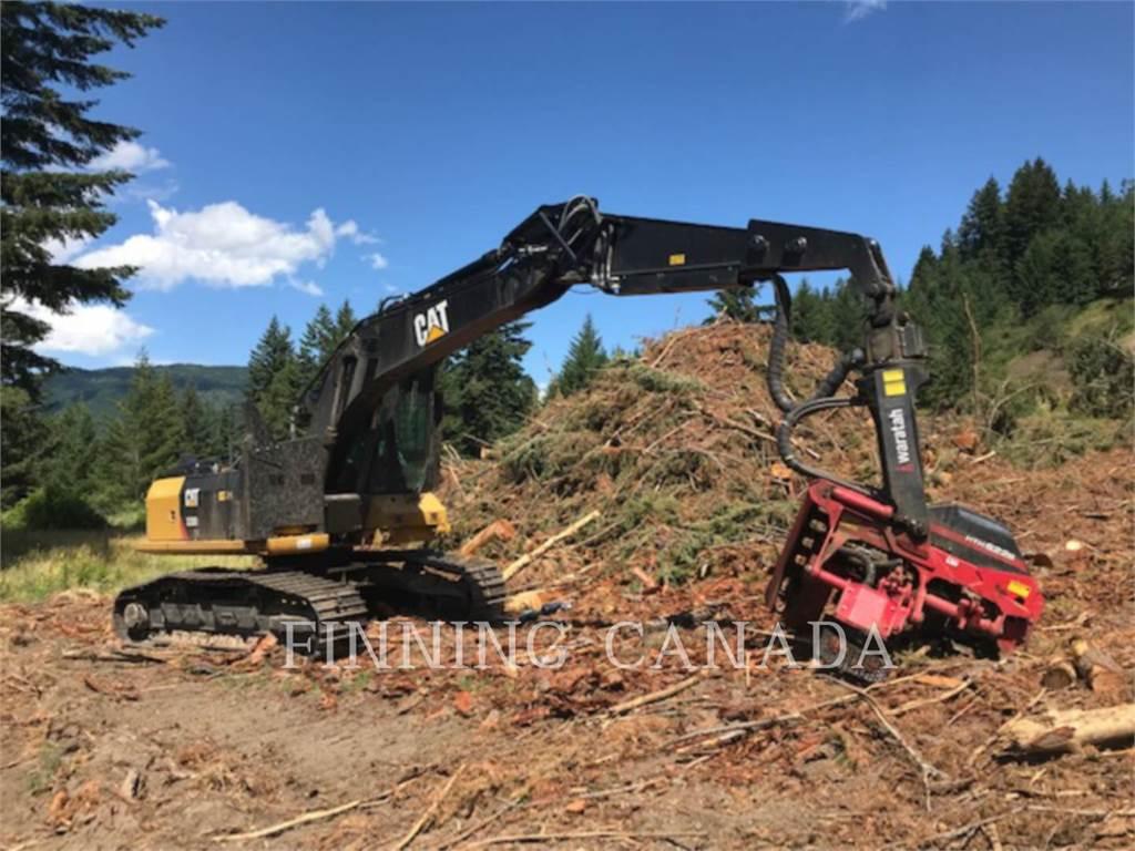 Caterpillar 320D2FMGF, Excavadoras, Forestal