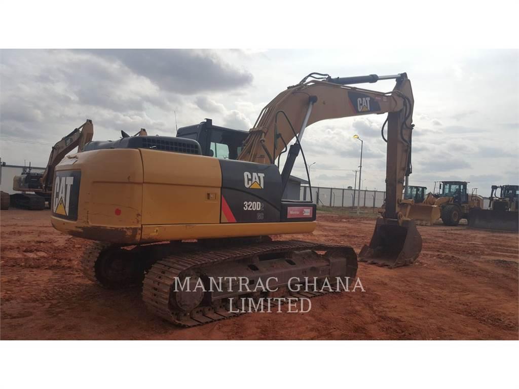 Caterpillar 320D2GC, Excavadoras de cadenas, Construcción