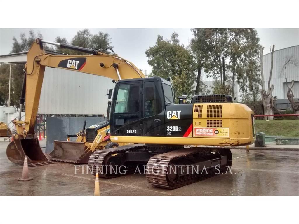 Caterpillar 320D2GC, Escavadoras de rastos, Equipamentos Construção