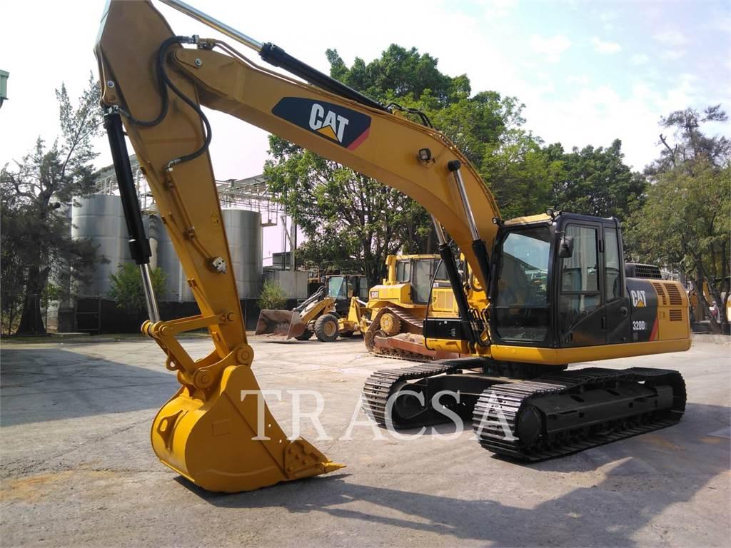 Caterpillar 320D2GC, Crawler Excavators, Construction