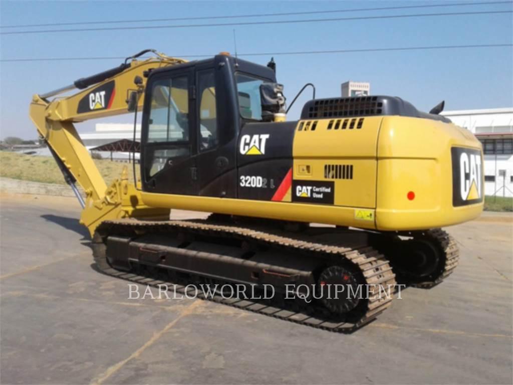 Caterpillar 320D2L、クローラー式油圧ショベル(パワーショベル・ユンボ)、建設