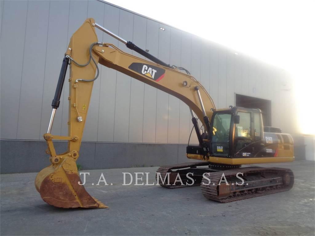 Caterpillar 320D2L, Pelle sur chenilles, Équipement De Construction