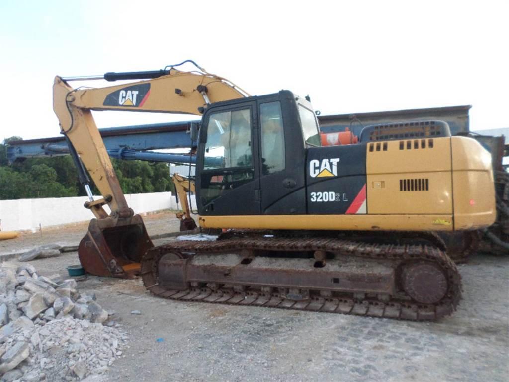 Caterpillar 320D2L, Raupenbagger, Bau-Und Bergbauausrüstung