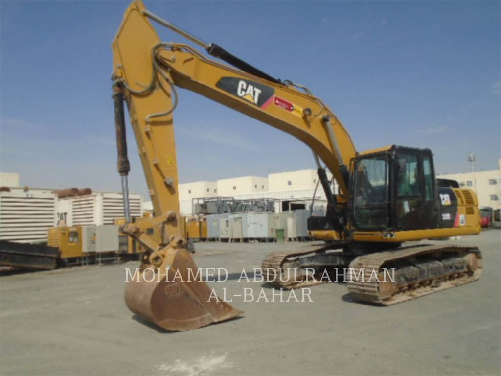 Caterpillar 320D2L, Crawler Excavators, Construction