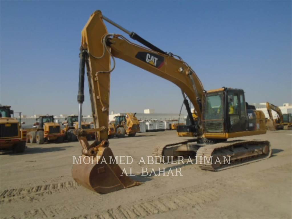 Caterpillar 320D2L, Rupsgraafmachines, Bouw