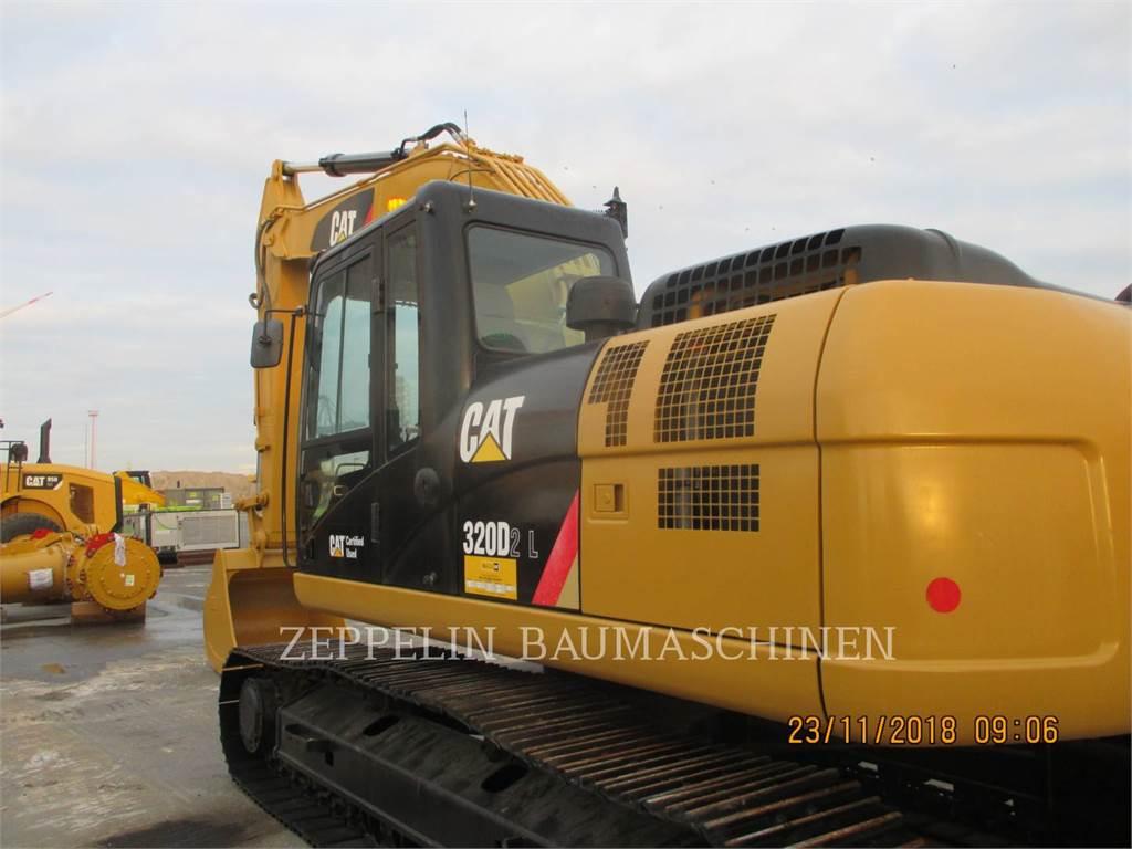 Caterpillar 320D2L、履带挖掘机、建筑设备