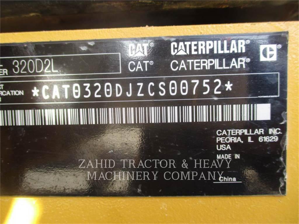 Caterpillar 320D2L、大型油圧ショベル12t以上(パワーショベル・ユンボ)、建設