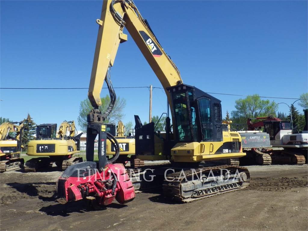 Caterpillar 320DFMHW, Forestry Excavators, Forestry Equipment
