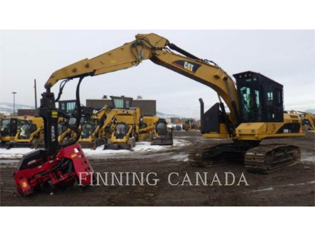 Caterpillar 320DFMHW, Forestry Excavators, Forestry Equipment