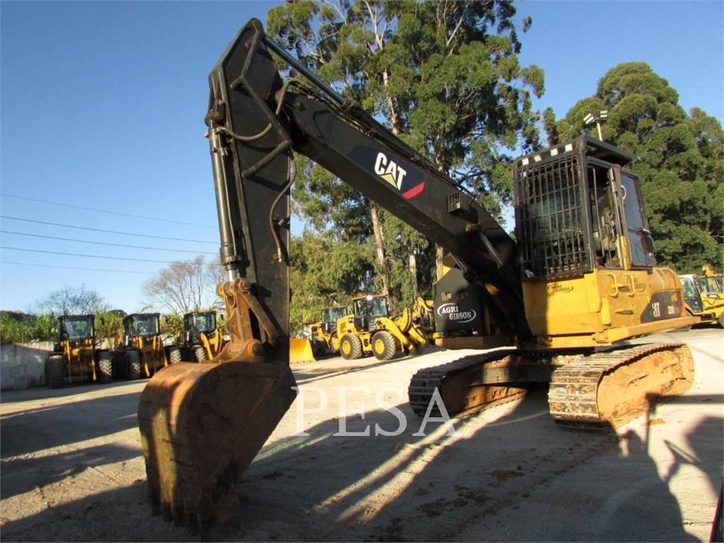 Caterpillar 320DFMLLB, Feller bunchers, Bosbouw