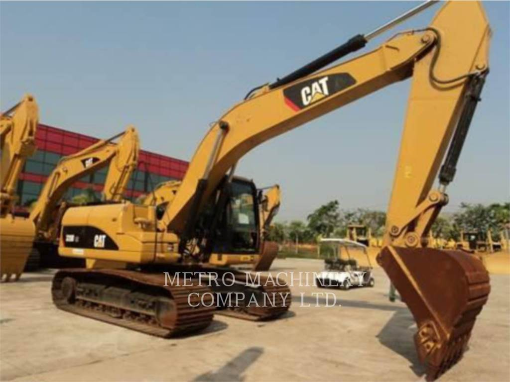 Caterpillar 320DGC, Crawler Excavators, Construction