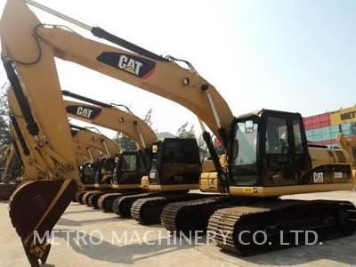 Caterpillar 320DGC, Excavadoras de cadenas, Construcción
