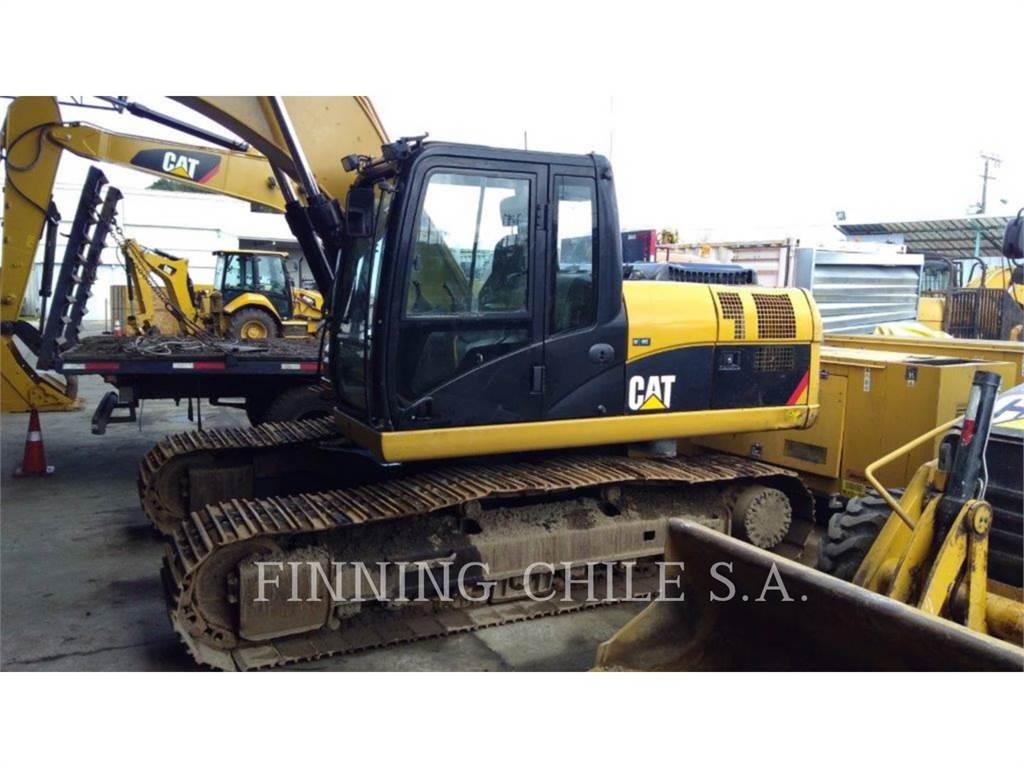 Caterpillar 320DL、クローラー式油圧ショベル(パワーショベル・ユンボ)、建設