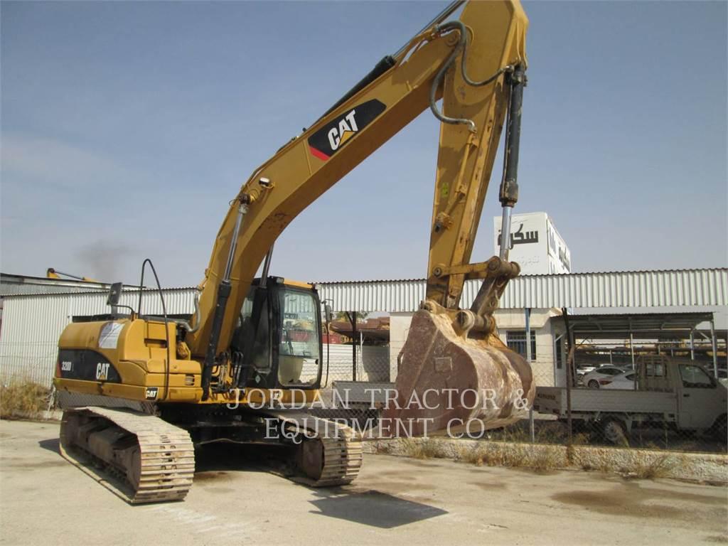 Caterpillar 320DL、履带挖掘机、建筑设备