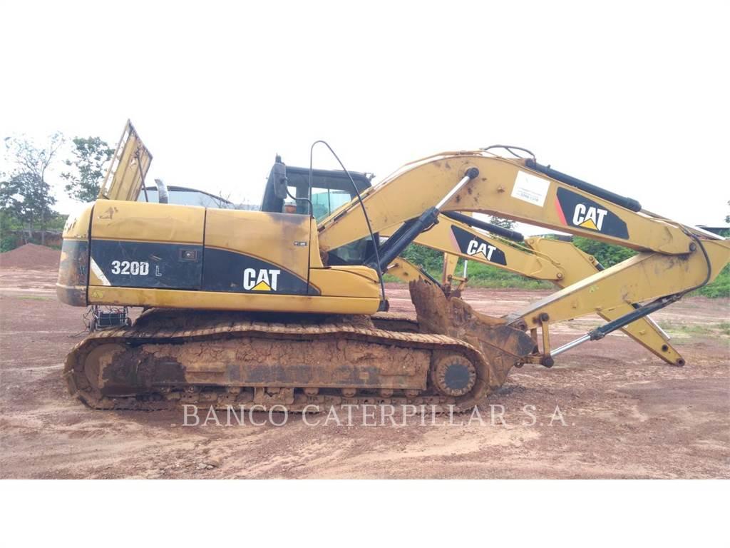 Caterpillar 320DL, Pelle sur chenilles, Équipement De Construction