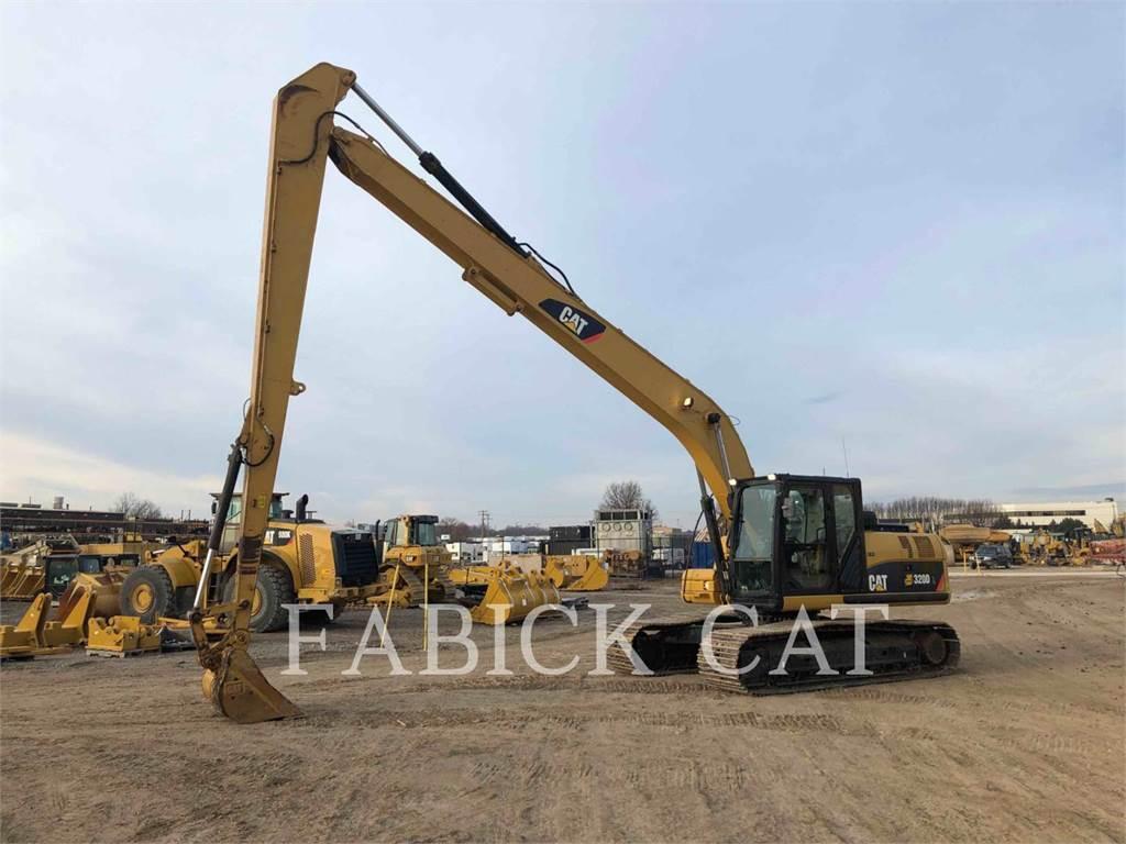 Caterpillar 320DL, Excavadoras de cadenas, Construcción
