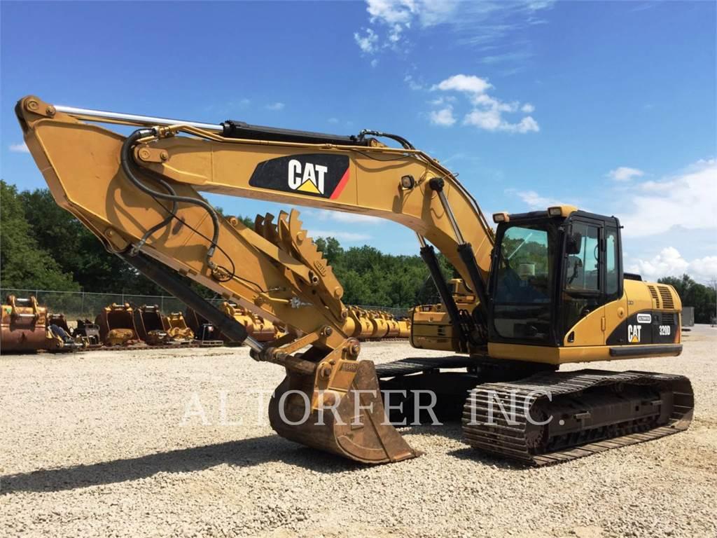 Caterpillar 320DL TH, Crawler Excavators, Construction