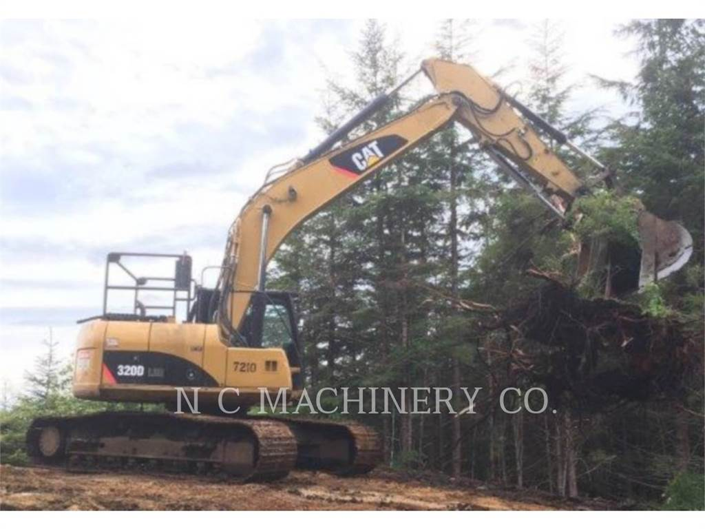 Caterpillar 320DLRR, Crawler Excavators, Construction