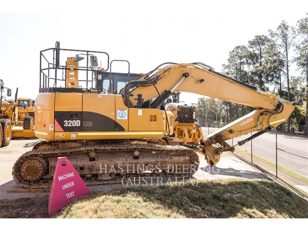 Caterpillar 320DLRR, Crawler Excavators, Construction