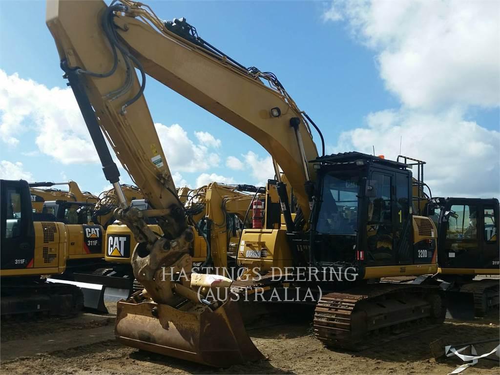 Caterpillar 320DRR, Crawler Excavators, Construction