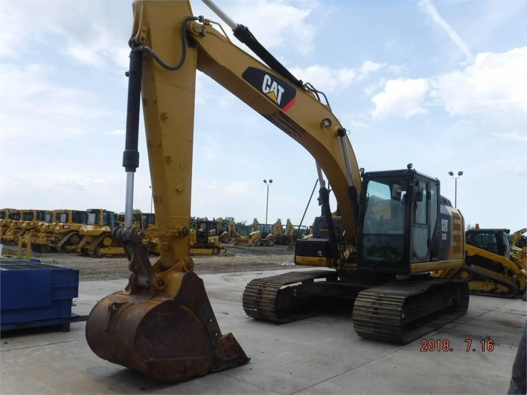 Caterpillar 320E, Crawler Excavators, Construction